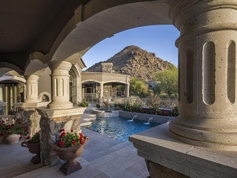 Exquisite tuscan inspired custom home in scottsdale - Tuscany sotheby s international realty ...