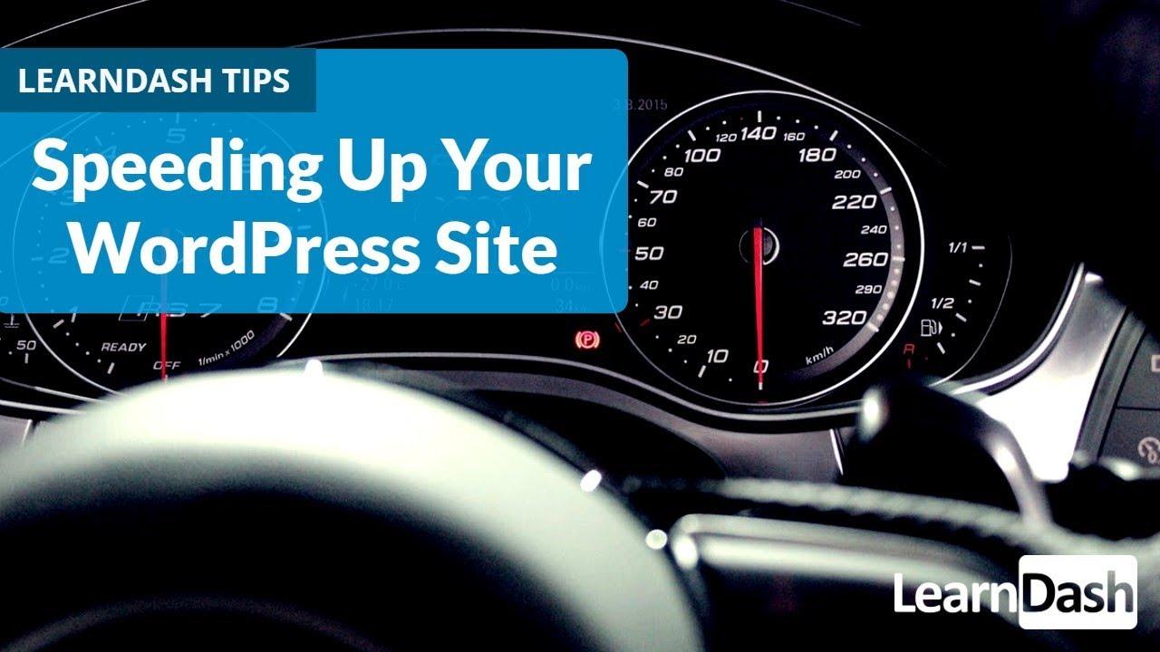 Tips for Optimizing WordPress for Speed - YouTube