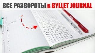 ВСЕ РАЗВОРОТЫ BULLET JOURNAL / НОВАЯ ОБЛОЖКА