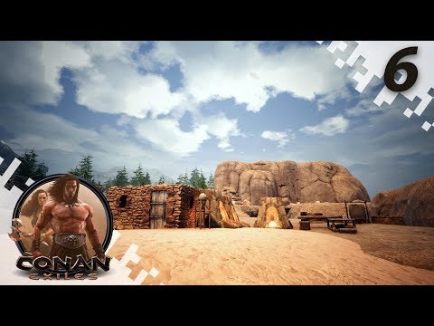 CONAN EXILES: THE FROZEN NORTH - Sticky Situation! - EP06