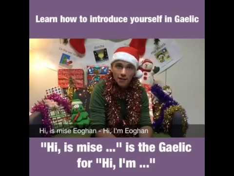 Scottish #Gaelic Advent Calendar – Day 1 Mìosachan na Nollaig – Latha 1 #Gàidhlig