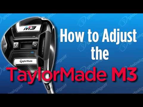 How to Adjust the TaylorMade M3 - YouTube