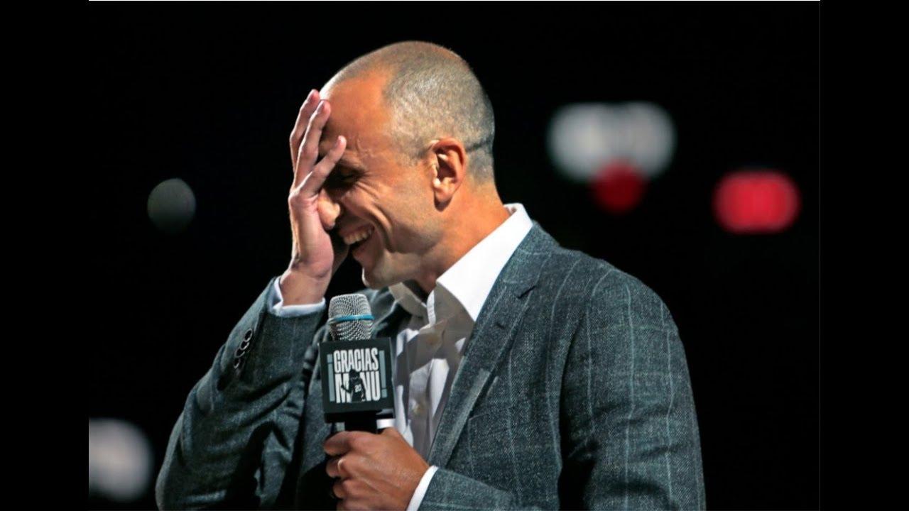 El emotivo discurso de Manu Ginbili en la despedida de Tony ...