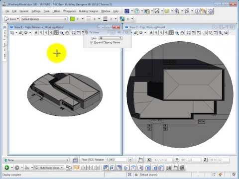 AECOsim Building Designer Tutorial Part 1