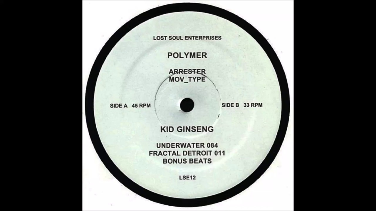 Polymer - Arrester ( Polymer / Kid Ginseng 2018 ) ( Lost Soul Enterprises )