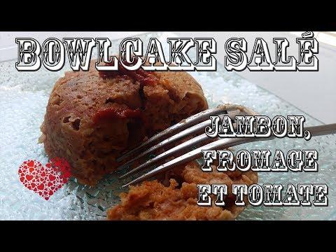 bowlcake-sale-jambon,-fromage-et-tomate