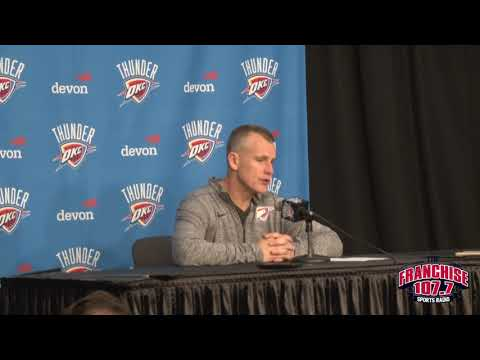 Billy Donovan Postgame 10.19.17