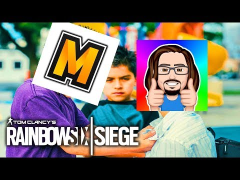 THE BIGGEST BULLY EVER!!! | Rainbow Six Siege