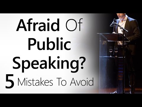 How to write a speech about mistake