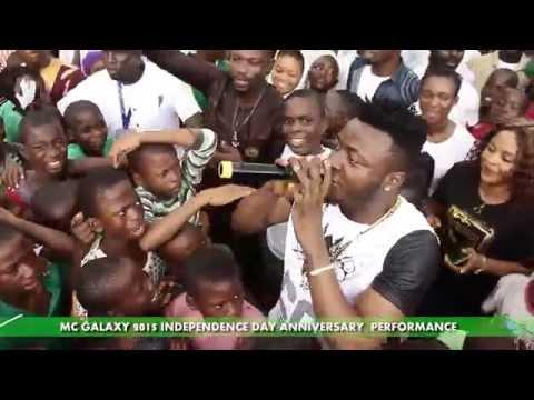 MC Galaxy – Independence Day Anniversary Performance 2015