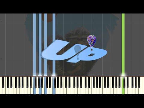 Stuff We Did - Disney Pixar's UP [Piano Tutorial] (Synthesia)