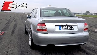 700HP Audi S4 B5 Anti-Lag Exhaust Sounds!