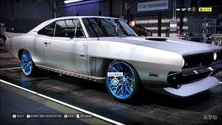 Need for Speed Heat - Dodge Charger 1969 - Customize | Tuning Car (PC HD) [1080p60FPS]
