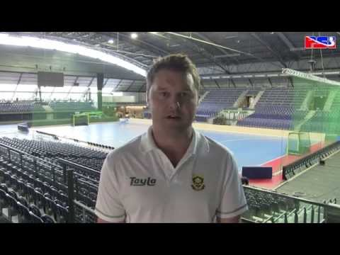SA Indoor Hockey Men World Cup Day 3 Coaching Staff