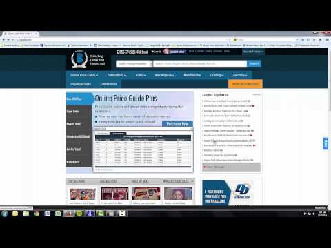 Beckett.com Basic Tutorial Video