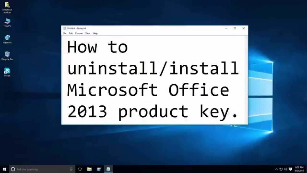 cscript ospp.vbs remove key