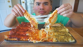 How To Make CHEESEY CHICKEN ENCHILADAS | Recipe | MUKBANG | QT