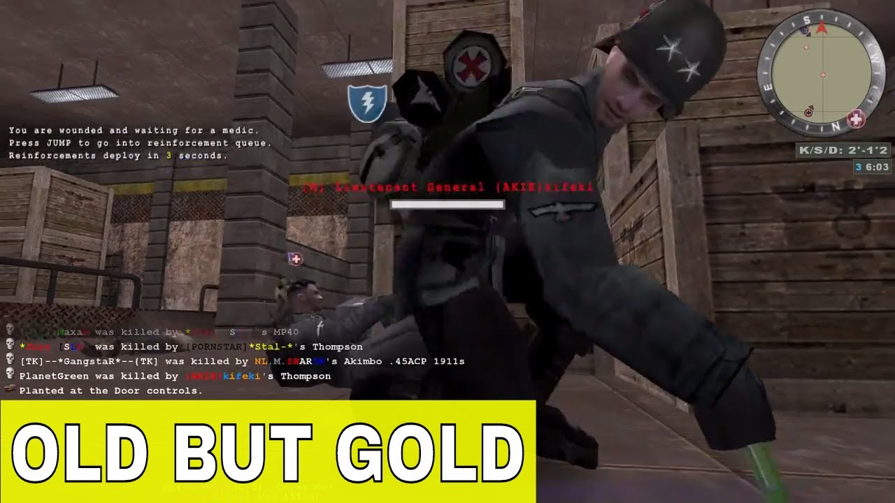 Old But Gold Wolfenstein Enemy Territory Legacy 2018