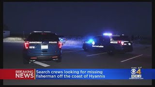 Crews Search For Missing Squid Fisherman Off Hyannis Coast