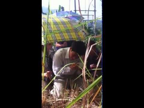 Nhà ngoại cảm Nguyễn Quốc Thắng tìm mộ tại Tây Bắc - Điện Biên Đông