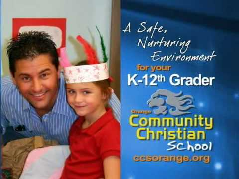 Community Christian School Television Ad