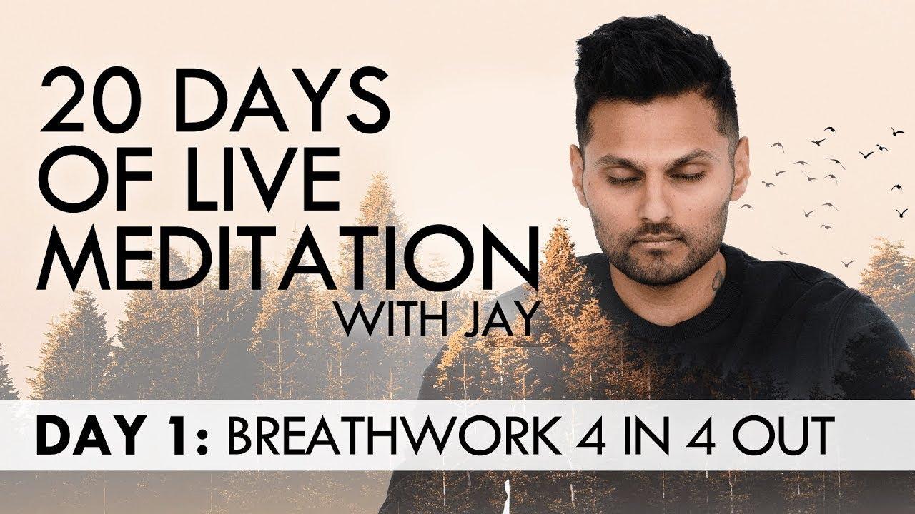 20 Days of Live Meditation with Jay Shetty: Day 1 - YouTube