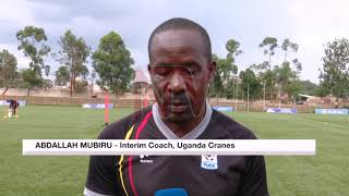 CHAN QUALIFIERS: Cranes step up preparations for Burundi match