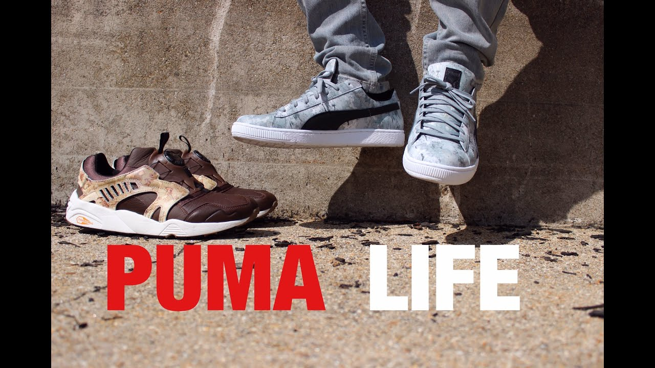 11b6d8cda66a Puma Life! Footwear   Apparel - Trinomic Disc   Basket Low