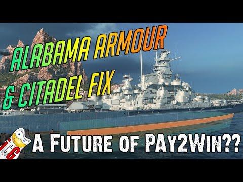 Alabama Armour & Citadel Fix - A Future of Pay2Win?
