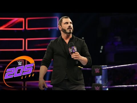 Austin Aries officially joins the WWE 205 Live roster: WWE 205 Live, March 7, 2017