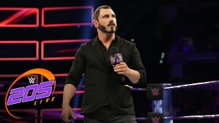 Austin Aries officially joins the WWE 205 Live roster: WWE 205 Live, March 7, 2017(Following a heated confrontation with Cruiserweight Champion Neville on Raw, Austin Aries makes a major announcement that will turn the WWE 205 Live ..., 2017-03-08T04:28:26.000Z)