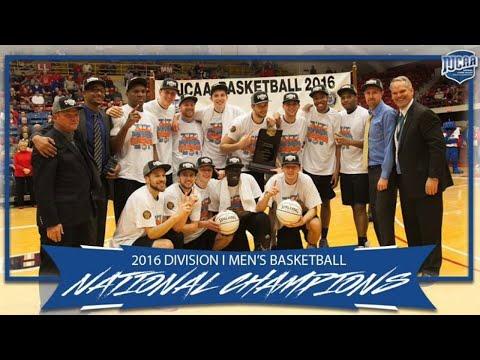 SLCC 2016 NJCAA Men's Basketball Championship Team