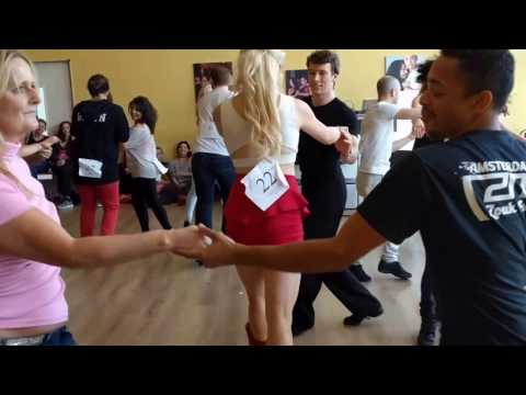 AMS ZNL Zouk Festival 2017: Novice J&J semi-finals with all ~ video by Zouk Soul