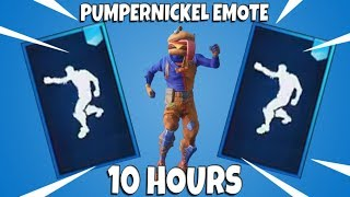 FORTNITE PUMPERNICKEL EMOTE (10 HOURS) with NEW DURRBURGER SKIN
