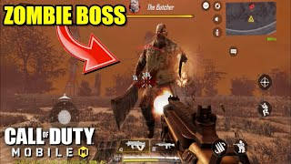 CALL OF DUTY MOBILE : ALL ZOMBIE BOSSES Gameplay (Android) HD