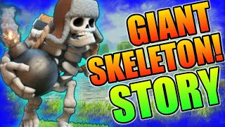 THE STORY OF GIANT SKELETON (HINDI)    CLASH OF CLAN'S
