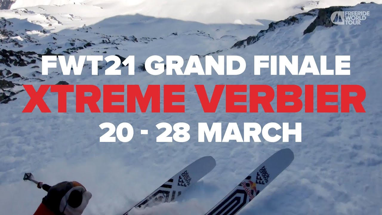 Freeride World Champions To Be Crowned in Verbier, Switzerland