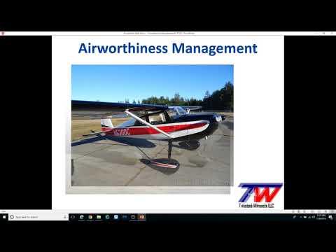 Airworthiness Management #4 - TCDS