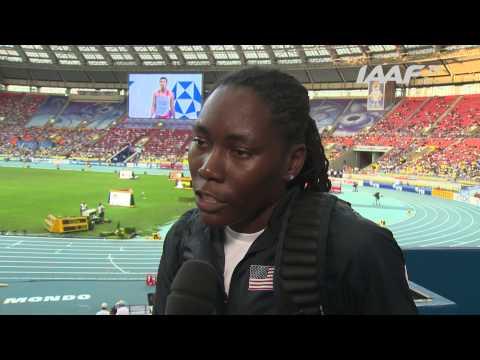 Moscow 2013 - Brittney REESE USA - Long Jump Women - Qual A