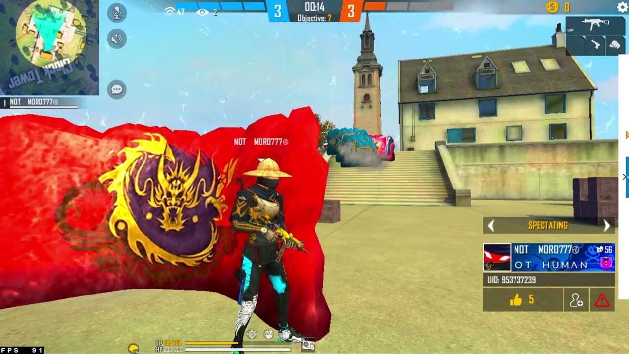 MORO777 🤯🔥Vs Pro players || Free Fire 1 Vs 4 Insane Gameplay - Garena Free Fire