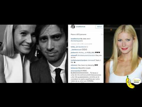 Gwyneth Paltrow is engaged to Brad Falchuk, here is the first photo of the couple social
