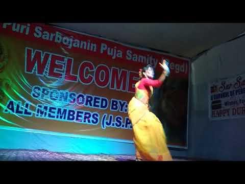 Ebar Pujoy Chai amar benaroshee saree  | Sudipta || Janak Puri Durga puja New Delhi-2018