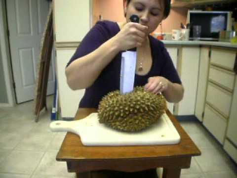Eating Durian Fruit - ...