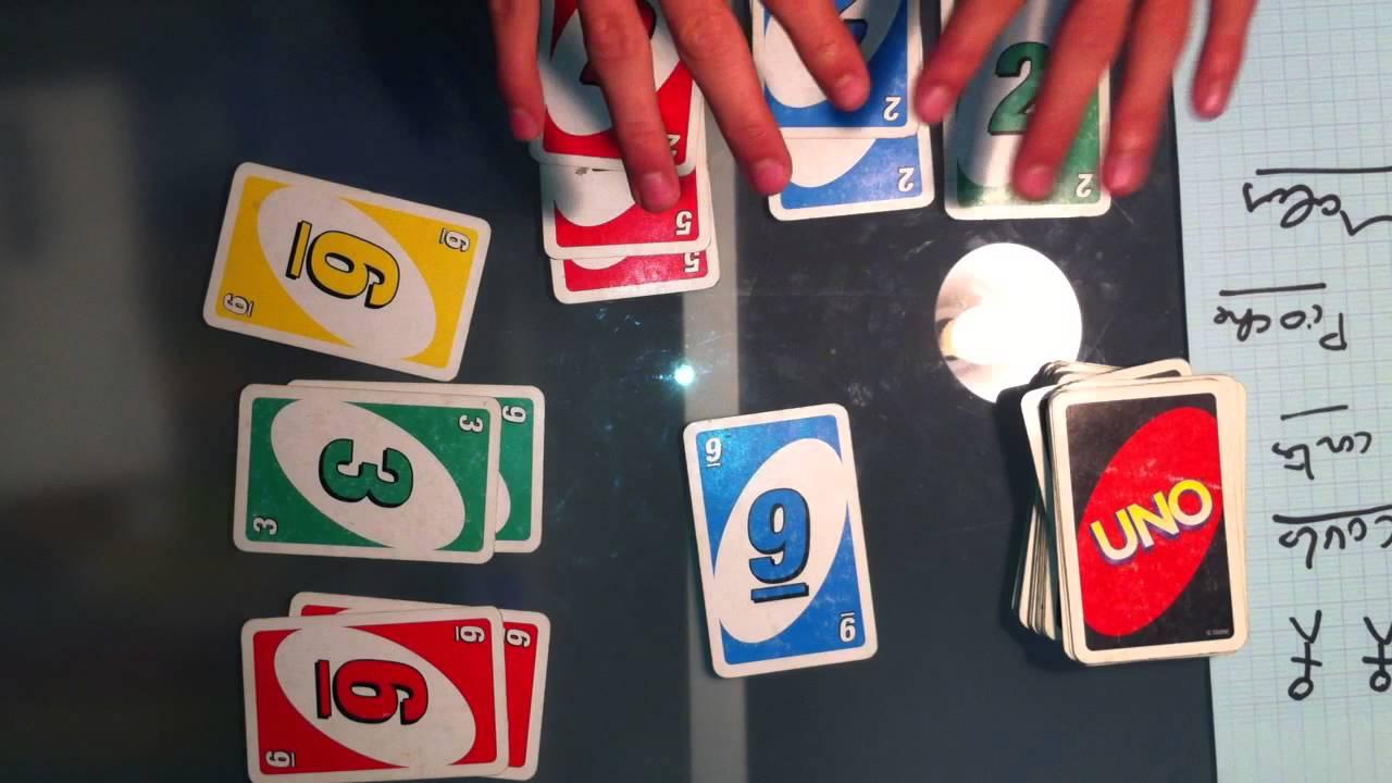 Top Jouer au Uno - Apprendre un jeu de cartes - YouTube FK33