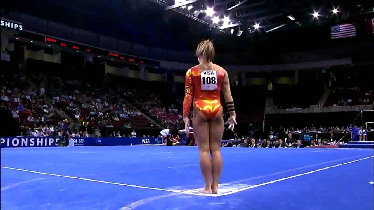floor gymnastics shawn johnson. SHAWN JOHNSON FLOOR ROUTINE Floor Gymnastics Shawn Johnson H