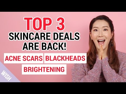 Korean Best Skin Care Products for Acne Scars, Blackheads, Brightening | WTL 20th Special