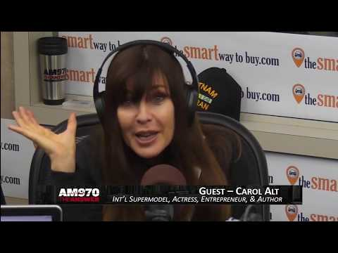 Supermodel Carol Alt on The Joe Piscopo Show - 18 Dec. 2018