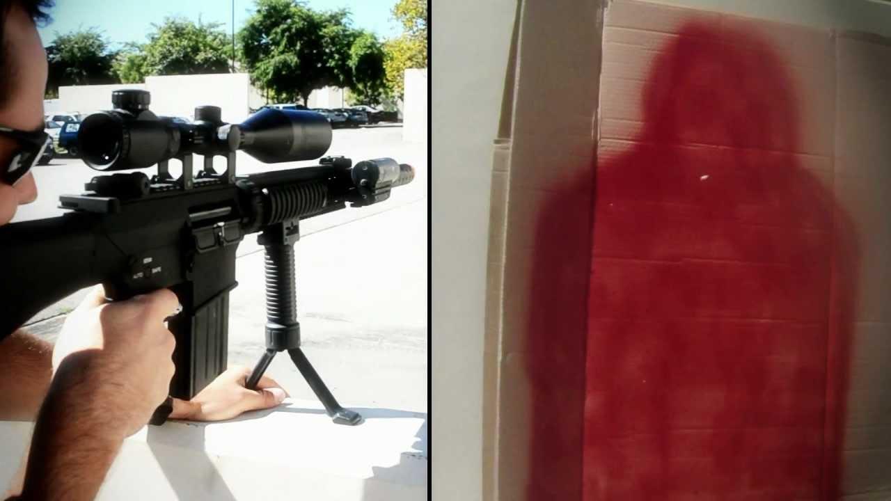 AK SR 25 DMR Sniper Rifle AEG