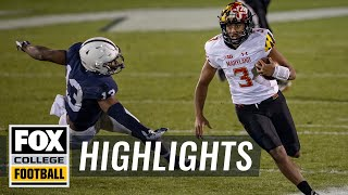 Watch: Maryland QB Taulia Tagovailoa Continues Ascent With Career Night | HIGHLIGHTS | CFB ON FOX