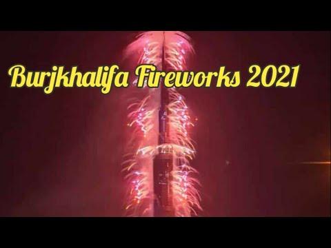 Watch Dubai's 2021 Newyear Fireworks Live[Burj khalifa]Dubai Marina